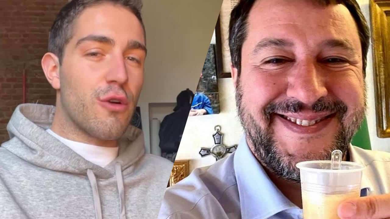 """Tommaso Zorzi, Matteo Salvini fuori di sè scrive sui social """"gli chiedo solo …"""""""