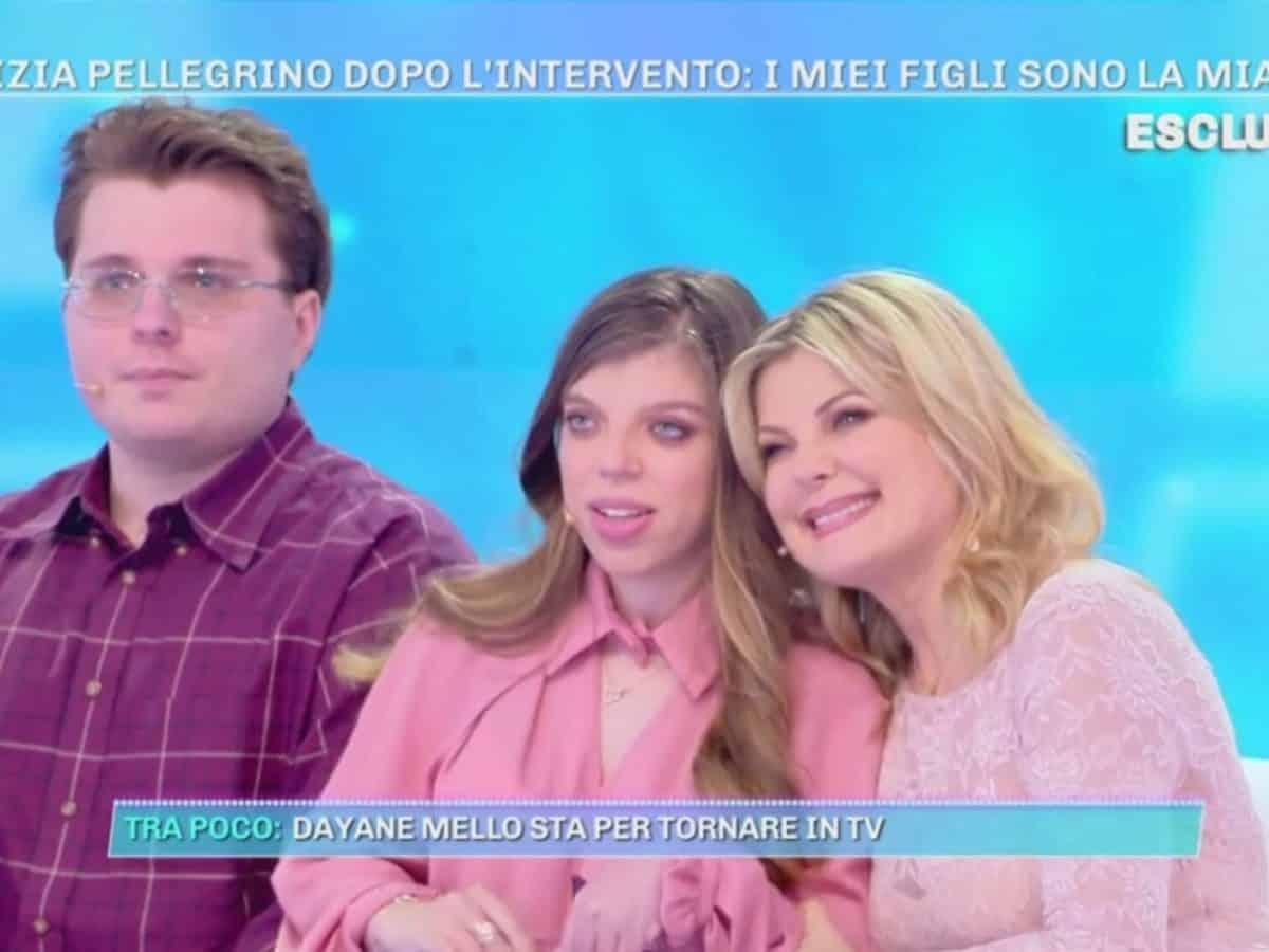 Patrizia Pellegrino presenta la figlia Arianna portatrice di handicap e chiede ad Alfonso Signorini di …