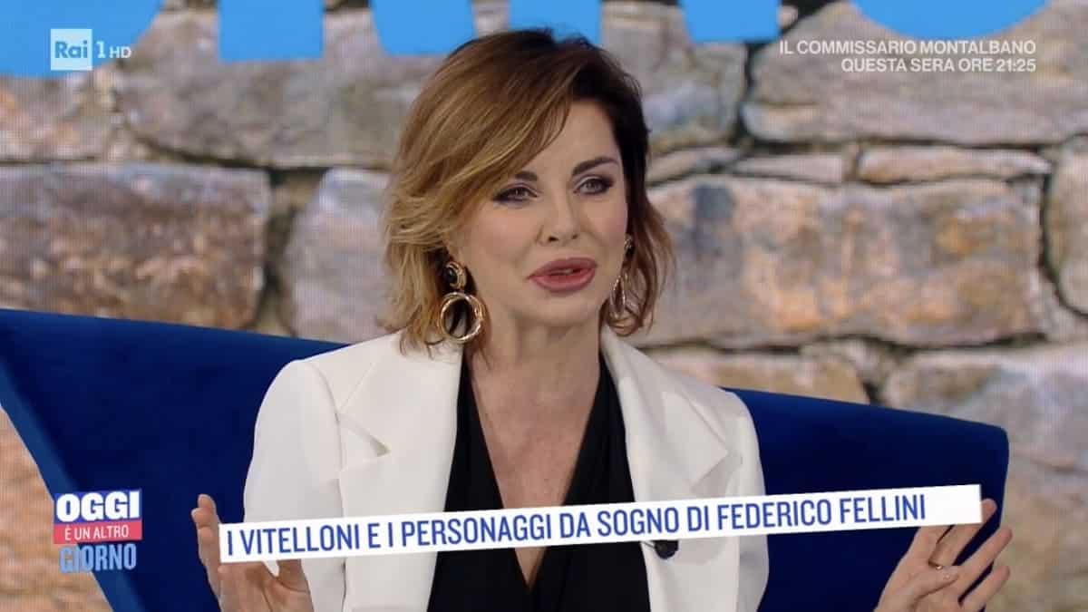 """Oggi è Un Altro Giorno, Alba Parietti a Serena Bortone: """"Sono felice di essere una …"""", la Bortone resta di ghiaccio"""
