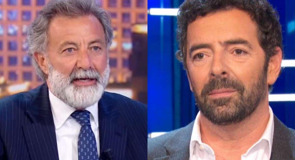 """La vita in diretta, Luca Barbareschi ad Alberto Matano """"io sono qui solo per te …"""", Matano senza parole"""