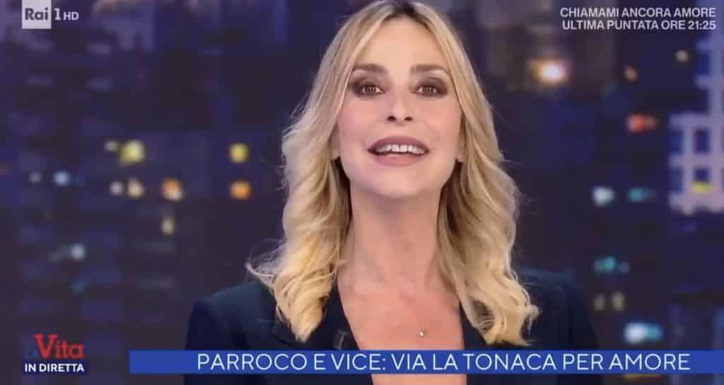 """La vita in diretta, Alberto Matano a Stefania Orlando: """"Questa è …"""" la Orlando rimane in silenzio in grande imbarazzo"""