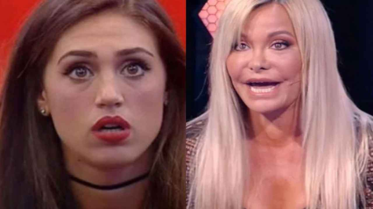 """Vera Gemma una furia contro Cecilia Rodriguez, """"Poco elegante, impari da Belen"""""""