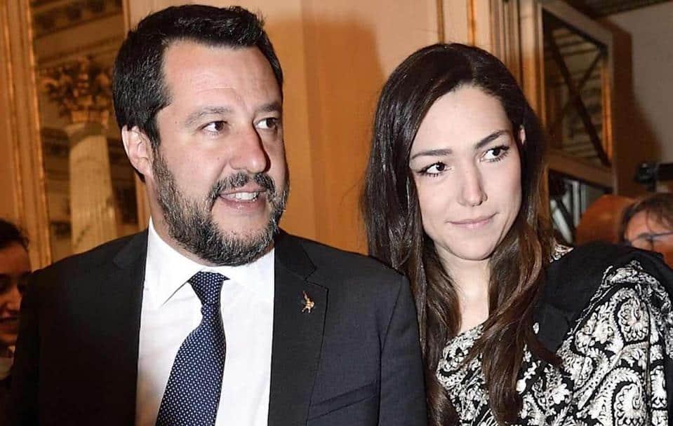 """Selvaggia Lucarelli a Salvini """"al funerale di Michele Merlo per la passerella"""", Francesca Verdini fidanzata di Salvini """"Inacidita da una vita che non va come avrebbe sperato"""""""
