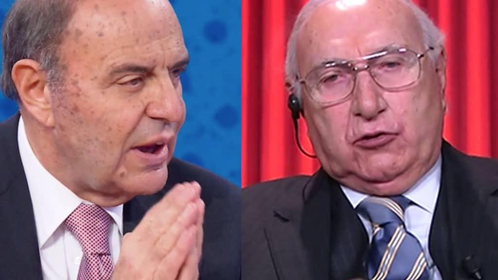 """Pippo Baudo, una furia contro Bruno Vespa: """"Non farò mai pace con lui perché non … """""""