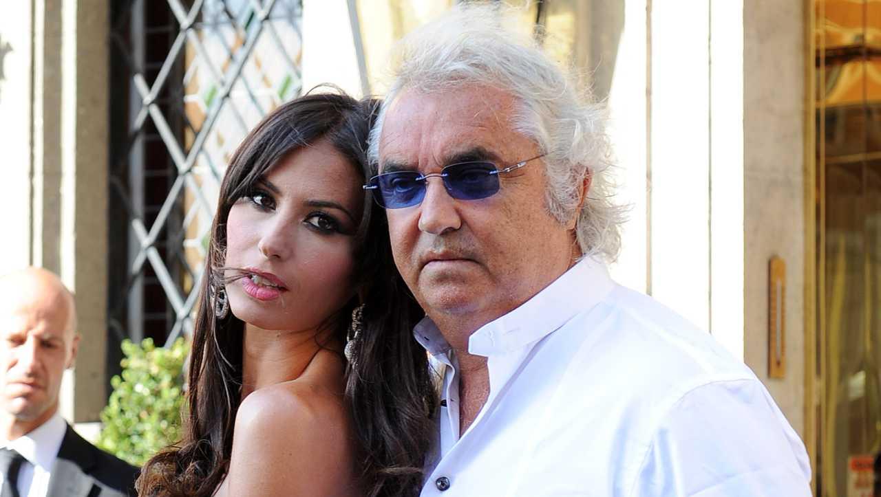 Flavio Briatore ricoverato e Elisabetta Gregoraci, sui social, è la prima a commentare