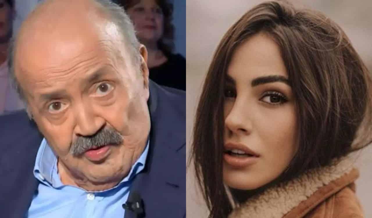 Maurizio Costanzo fa una battuta pungente a Giulia De Lellis, lei in grande imbarazzo risponde