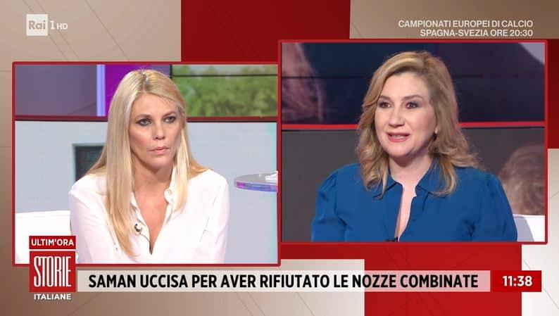 """Storie Italiane, Serena Bortone al veleno contro alcuni colleghi """"Mi fanno ridere perchè …"""""""