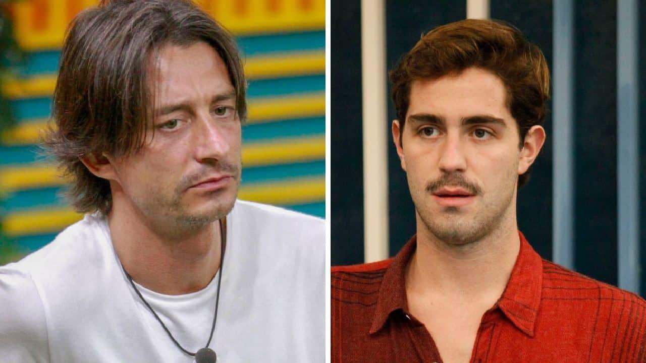 Tommaso Zorzi e Francesco Oppini nello stesso ristorante ma non si parlano per niente …