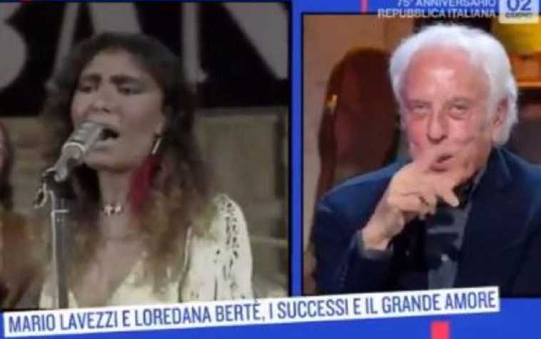 """Oggi è Un Altro Giorno, Mario Lavezzi parla di Loredana Bertè e dice """"Abbiamo avuto …', Serena Bortone resta senza parole"""