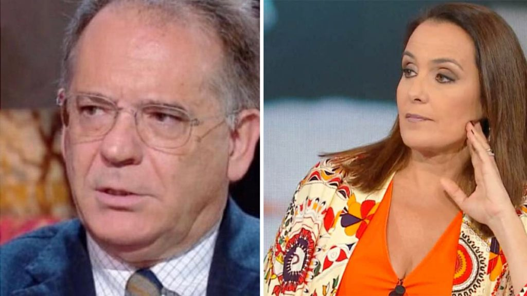Estate in diretta, Alessandro Cecchi Paone provoca Roberta Capua e lei risponde a tono, momenti di tensione in studio