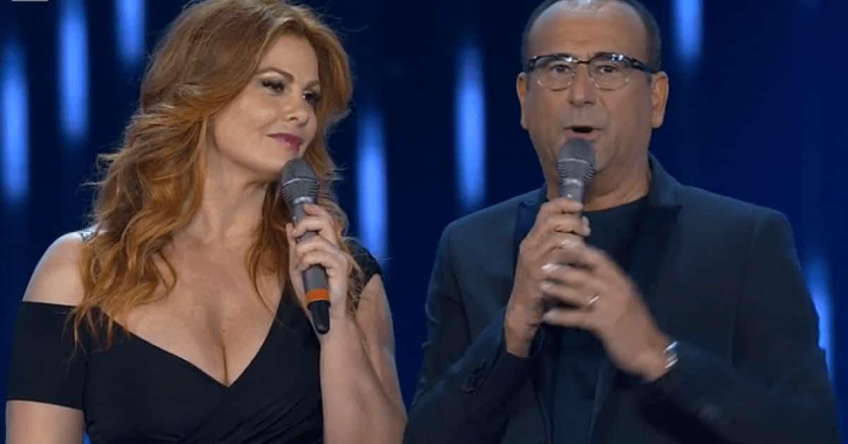 """Carlo Conti senza freni su Vanessa Incontrada: """"Mi ha dato un bacio e non me lo aspettavo, sono rimasto senza parole"""""""