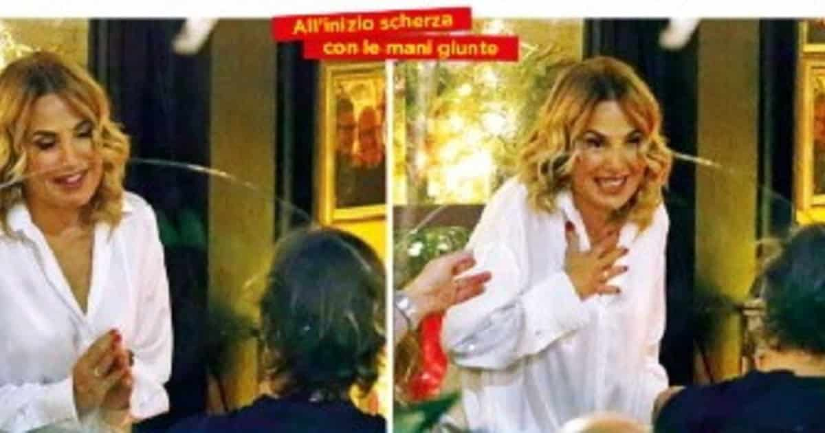 Barbara D'Urso, furiosa lite all'esterno di un ristorante di Milano col fidanzato e poi …